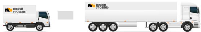 Фургоны (цельнометаллические) от 1.5 до 20 тонн