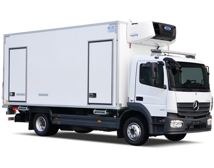 Mercedes рефрижератор 1.5 тонны